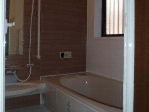 暖かみのある浴室へリフォーム