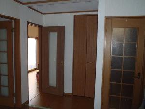 和室を洋間+納戸へリフォーム